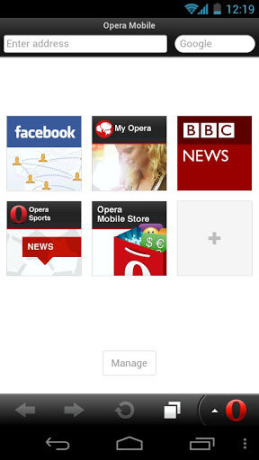 Opera Mobile Web Browser