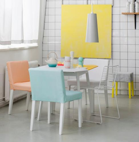 die wohngalerie ikea in pastell mit bemz. Black Bedroom Furniture Sets. Home Design Ideas