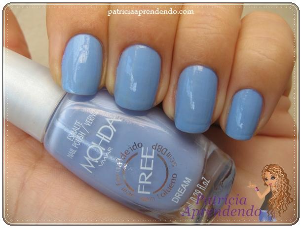 Azul com um quê de lilás