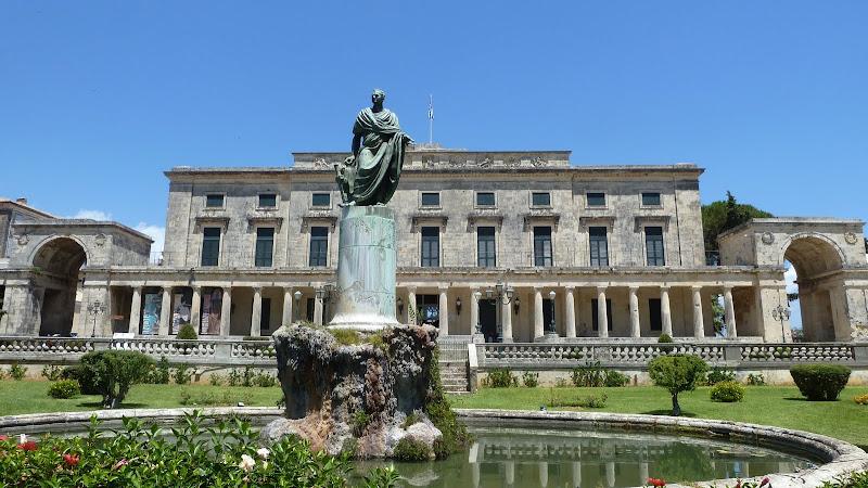 Alter Palast in Korfu Stadt