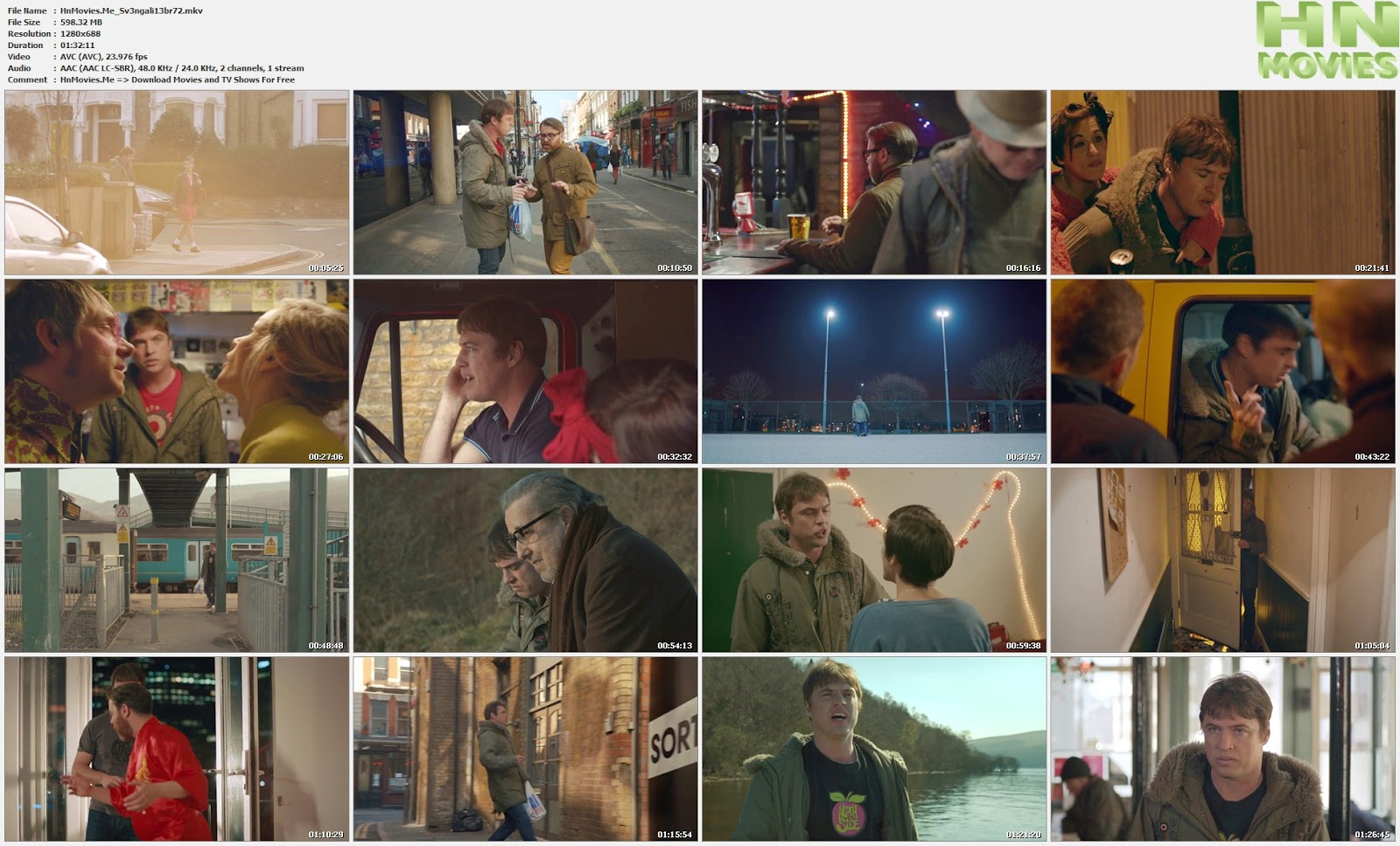 Svengali (2013) BluRay 720p BRRip 600MB