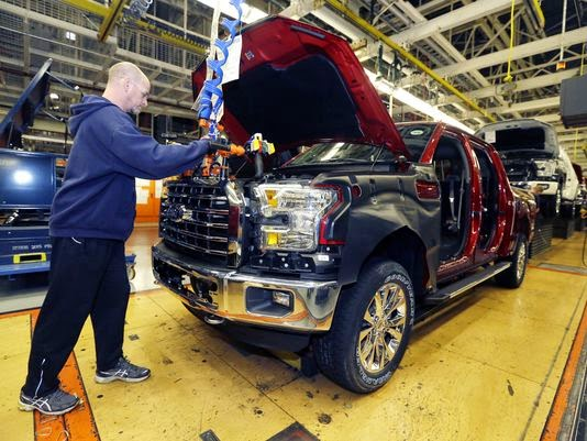 Ford Adds Jobs to Support 2015 F-150 Demand