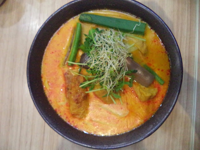 Organic Soya Milk Curry Laksa Noodle