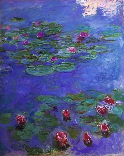 Monet Lily Paint Color
