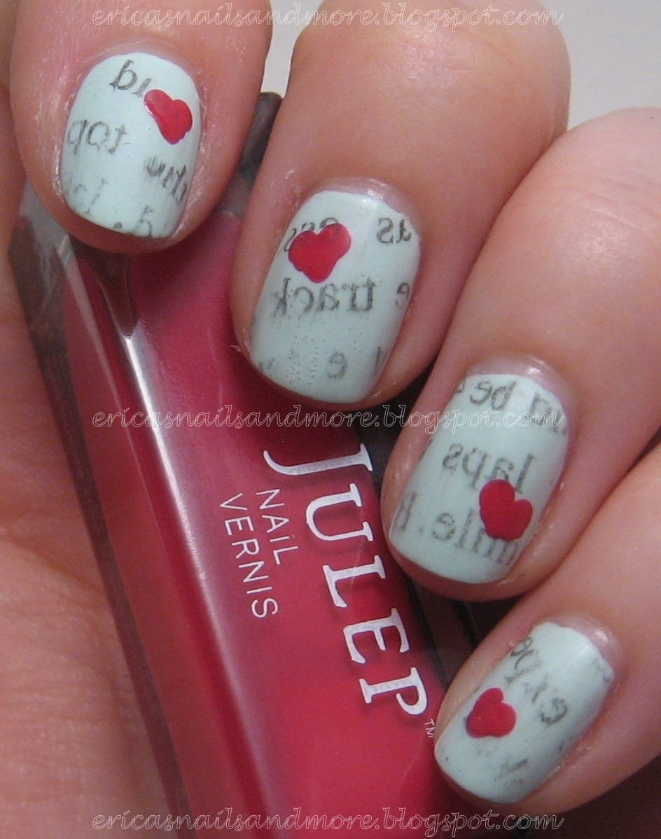 Erica\'s Nails and More: N is for Newspaper Nails