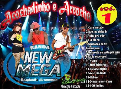 CD OFICIAL 2015 BANDA NEW MEGA VOL.01 LANÇAMENTO 17/03/2015