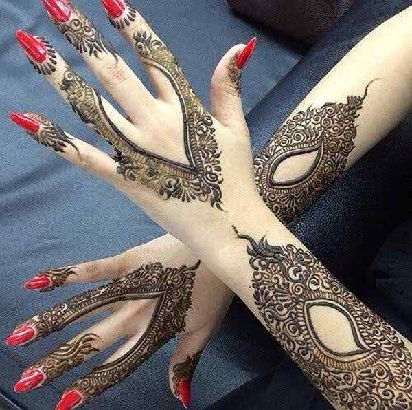 styles of mehndi