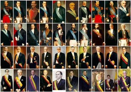 lamina presidente ecuador constitucional republica biografia 1820 historia atribuciones funciones