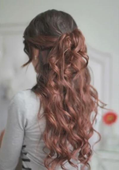 Hairstyles Cute Summer Half Up Half Down Hairstyle