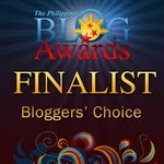 2011 Philippine Blog Awards Blogger's Choice finalist