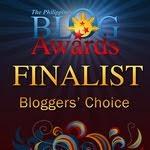 2011 Philippine Blog Awards Blogger's Choice finalist