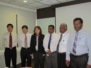 Sri Lanka Education Ministry Officials visits STEi institute in Singapore