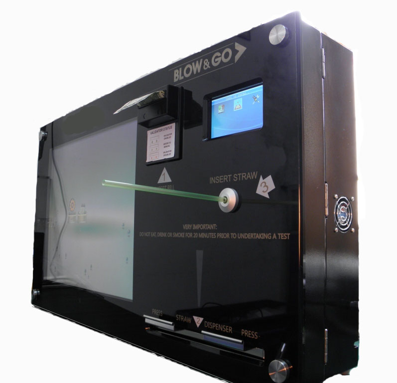 breathalyzer machine for bars