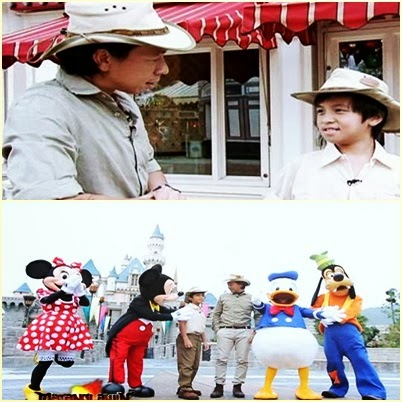 Kuya Kim and Son Jose Shares Disneyland Adventure in 'Matanglawin' (January 26)