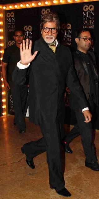 Amitabh Bachchan at GQ Men Of The Year 2012 Awards