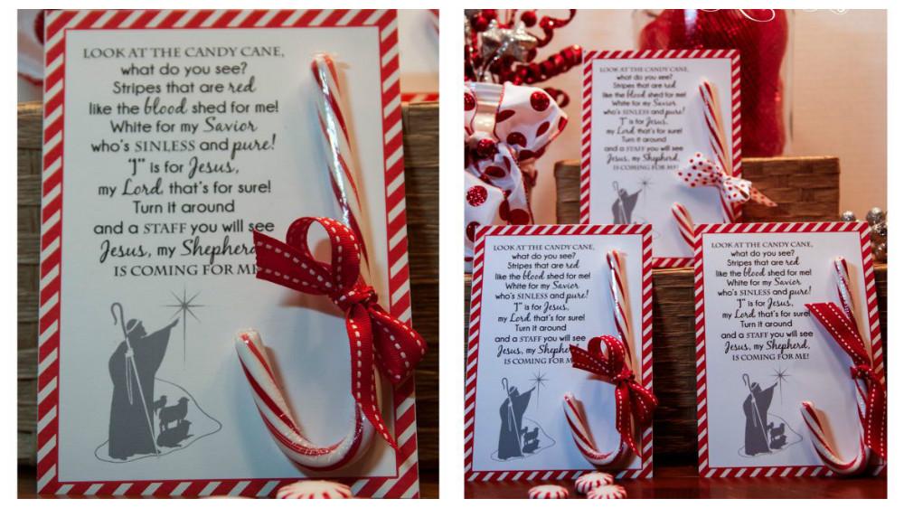 puedes emplear el poema del bastn de dulce para acompaar tu regalo de navidad