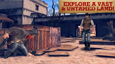 Six-Guns 1.1.8 [Mod Unlimited Money] APK + SD DATA Files (Android)
