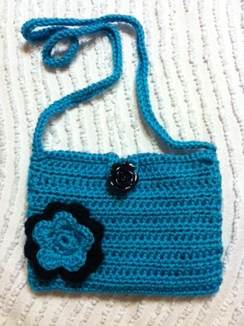 Crochet Bag Handles : Krafty Kell: Swag Bag - Crochet Handles