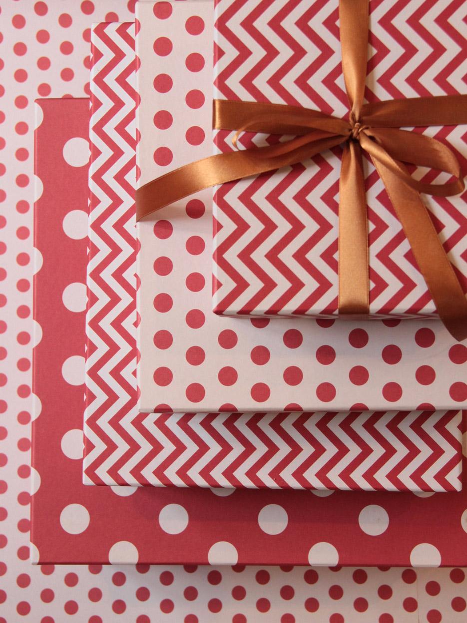 Embalagens de Presente para Natal