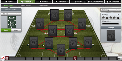FUT 13 Formations - 4-2-2-2 - FIFA 13 Ultimate Team