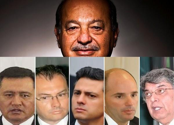 Carlos Slim pone en jaque a políticos mexicanos, incluido a Enrique Peña Nieto.