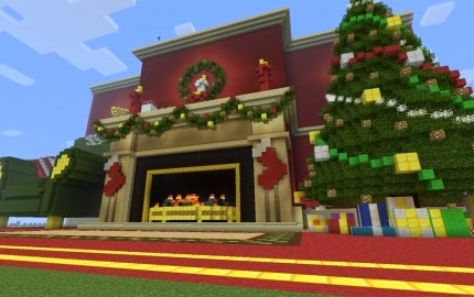 christmas cool builds minecraft xbox 360