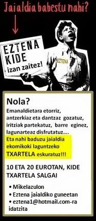 EZTENA KIDE IZAN ZAITEZ !