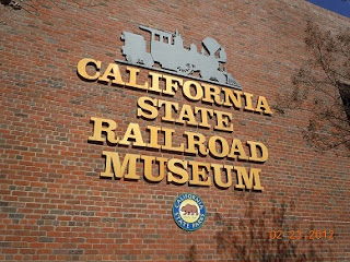 california state railroad museum sign