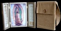 ¡La Virgen Peregrina bajo la advocación de Nuestra Señora de Guadalupe está visitando las familias!