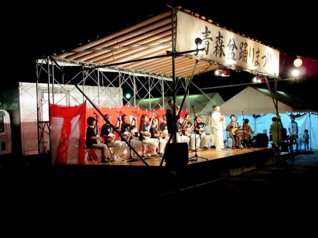 祭りステージ