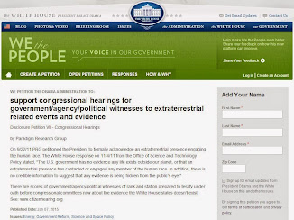 Congressional Hearings On ET Related Phenomenon