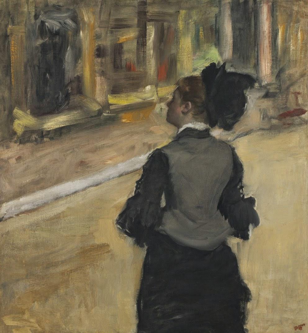Degas - Femme vue de dos