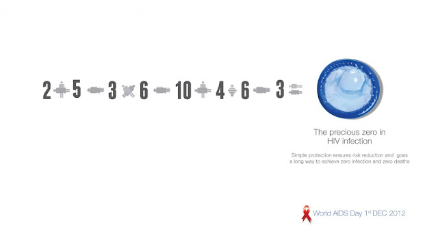 Zero aids infection - World AIDS Day