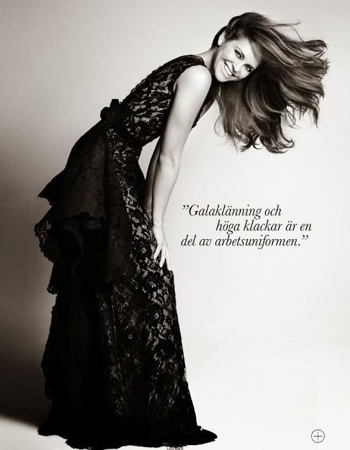 Princess Madeleine for Elle Sweden November 2013