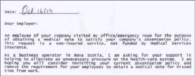 Screen Capture: Doctor's Response © twentytwowords.com