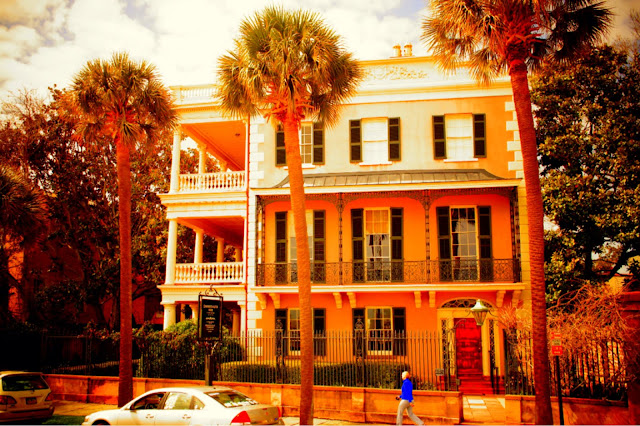 Charleston building royalty free picture