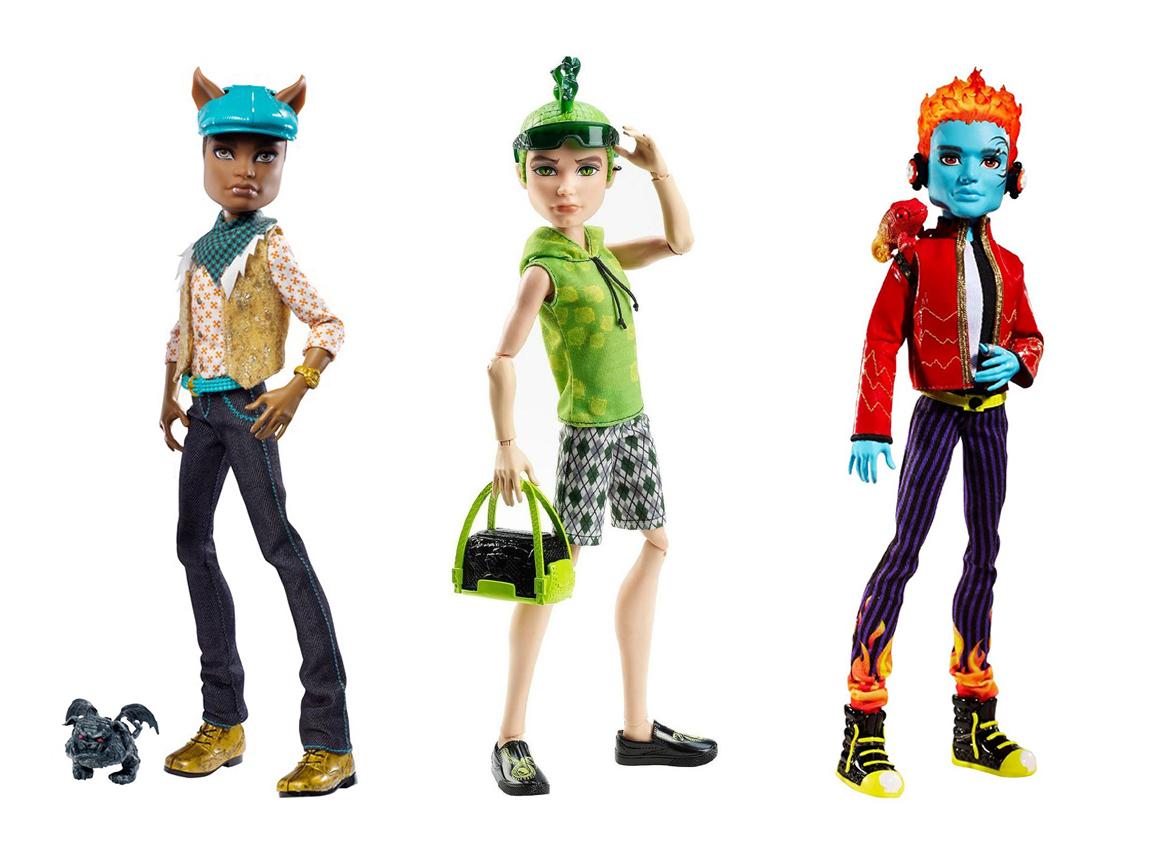 Dolls Circus El extrao mundo de Monster High