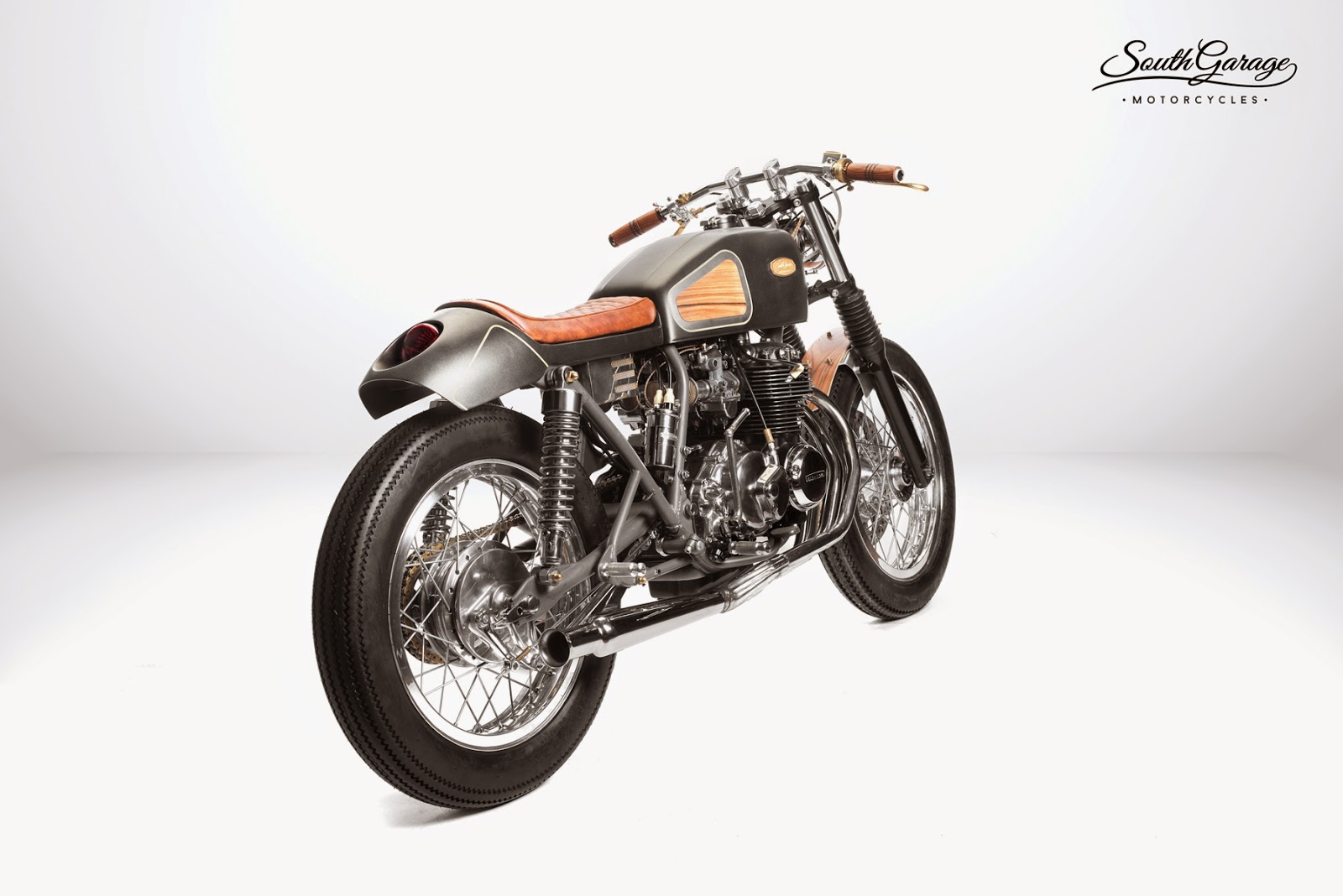 racing caf honda cb hyle by south garage motorcycles. Black Bedroom Furniture Sets. Home Design Ideas