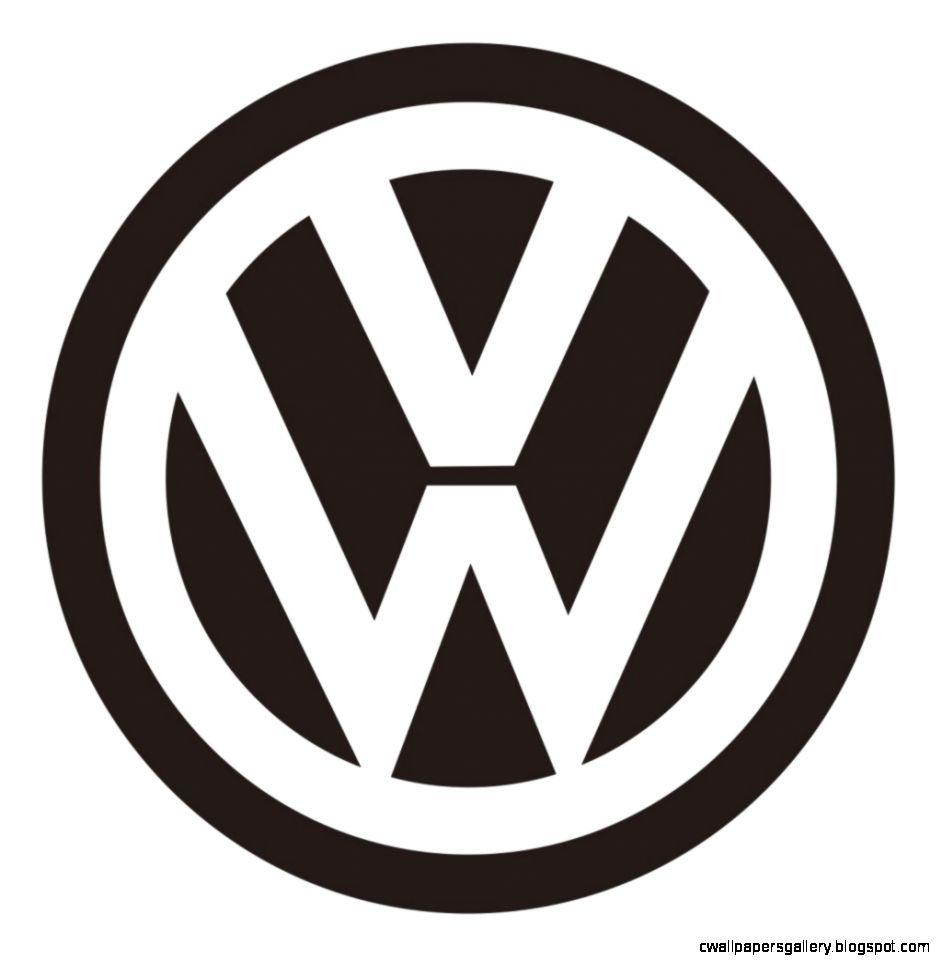 volkswagen logo black  IMCP AI1   Logo Design  Pinterest