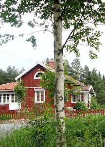 Min gamla blogg Vårt röda hus