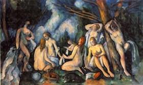 Paul Cezanne, Bañistas