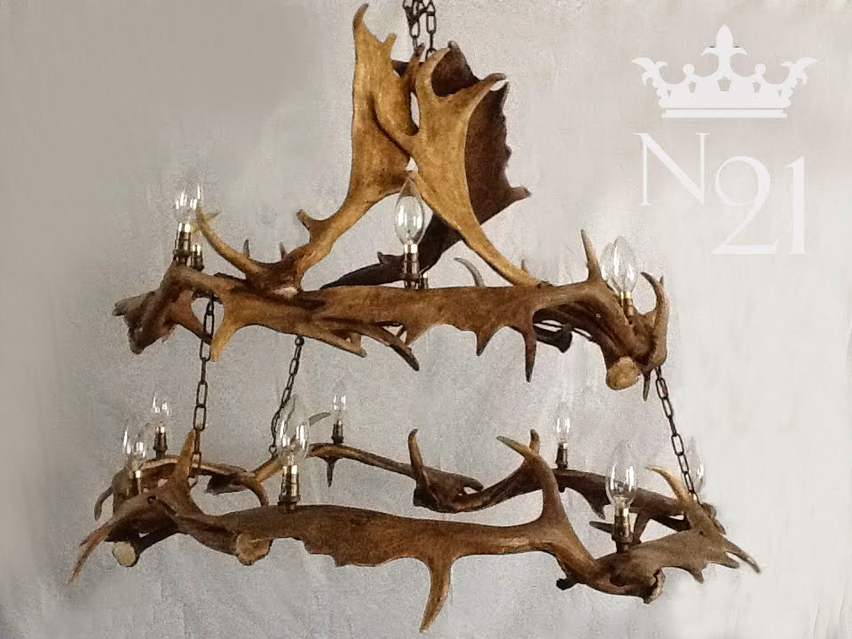 Two Tier Fallow Chandelier