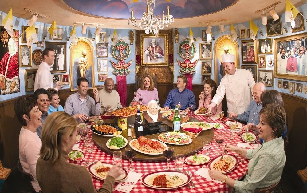 Restaurante Buca di Peppo em Miami e Orlando