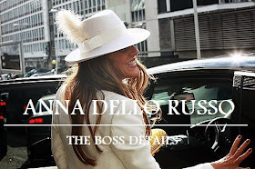 ANNA DELLO RUSSO - THE BOSS DETAILS