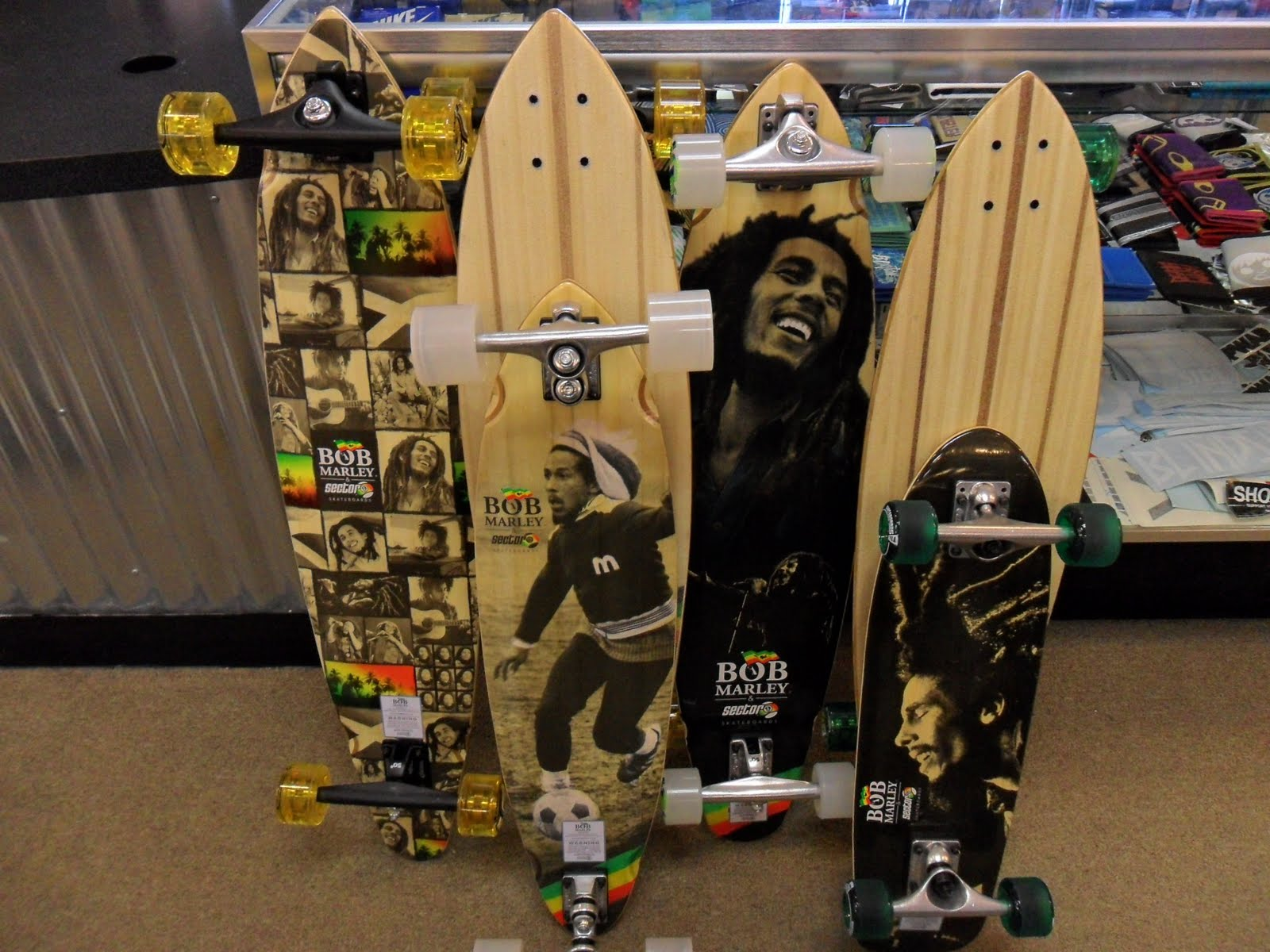 Blindside of Layton: Bob Marley x Sector 9 Longboard Sector 9 Bob Marley