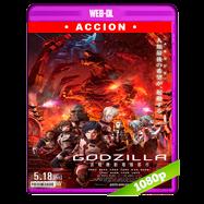 GODZILLA: Ciudad al filo de la batalla (2018) WEB-DL 1080p Audio Dual Latino-Japones