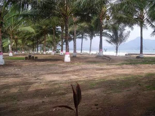 Pantai Mustika, Kecamatan Pesanggaran, Banyuwangi.