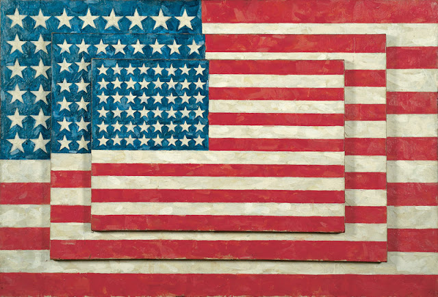 Jasper Johns, Whitney Museum, Three Flags