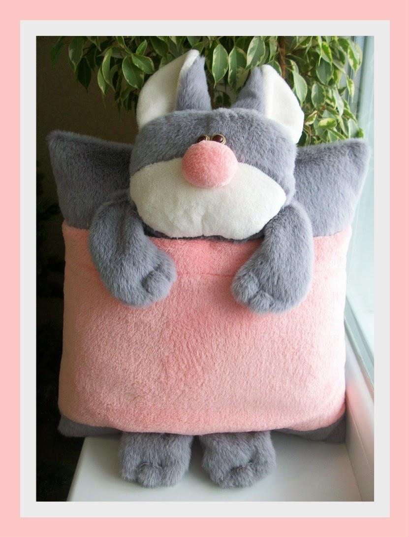 подушка-игрушка, подушка-обнимашка, подушка