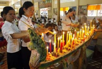 pchum ben Pchum ben, also known as 'ancestors' day', 'festival of the dead' or 'hungry ghosts festival', is a 15-day cambodian religious festival, which culminates in.